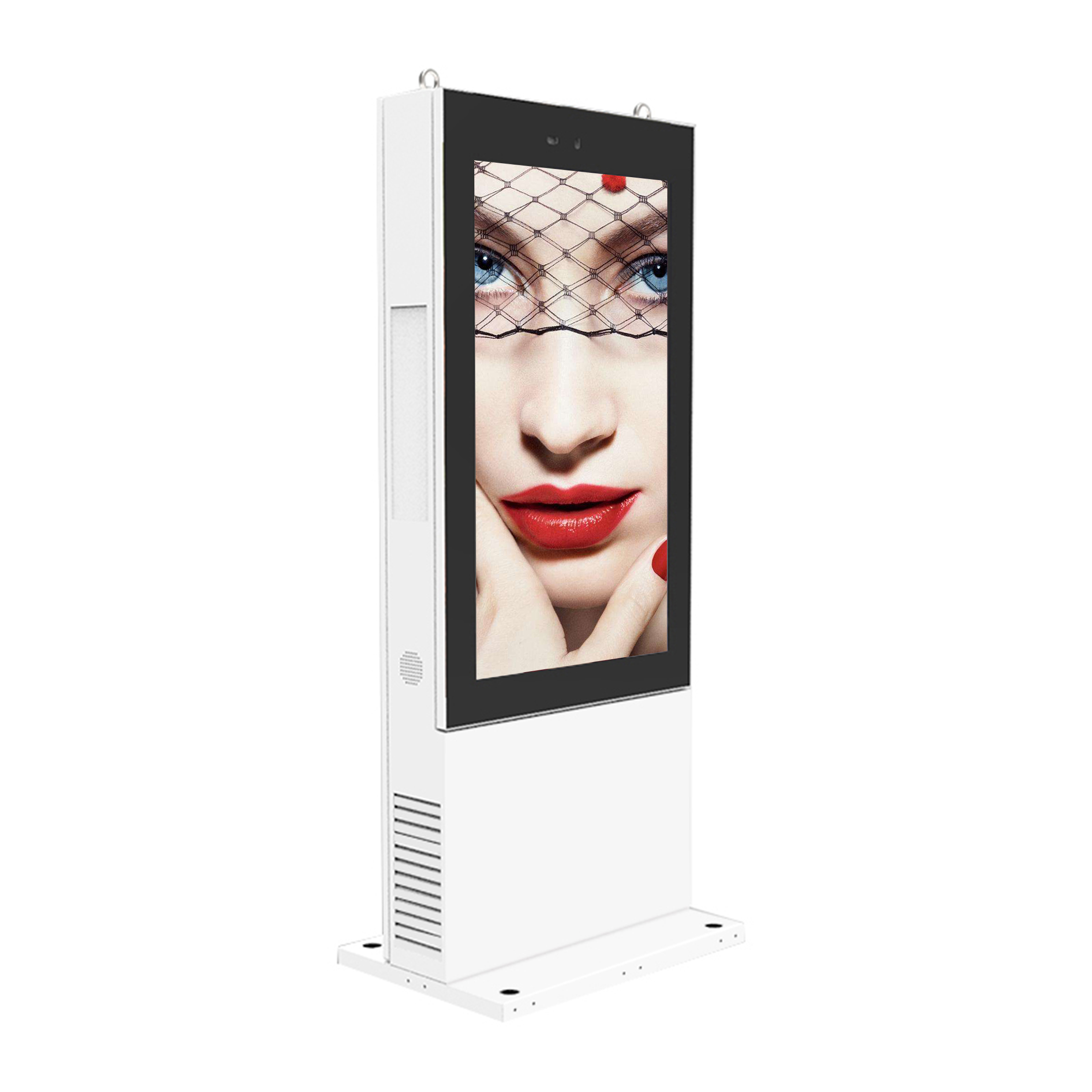 Outdoor self-service digital signage & interactive digital kiosk